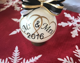 Anniversary wedding first ~ Anniversary ornament etsy