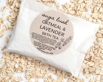 Oatmeal + Lavender Bath Tea