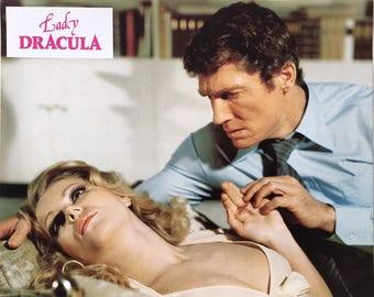 Set of 15 lobbycards Lady Dracula Dir. Franz Josef Gottlieb 1977