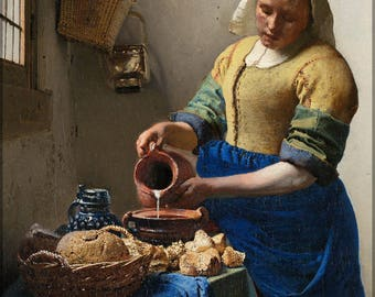Poster, Many Sizes Available; The Milkmaid By Johannes Vermeer P2