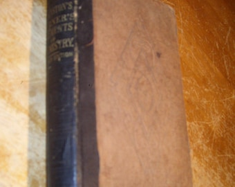 1865 Book Elements Of Chemistry For The Use Of Schools John Johnston