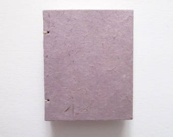 Handmade Sketchbook, mini books, blank journal, red book, bird book