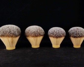 Plisson Style Shaving Brush Knots 26, 28, and 30mm