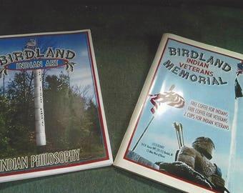 Birdland Indian Art & Indian Veterans Memorial Pamphlets