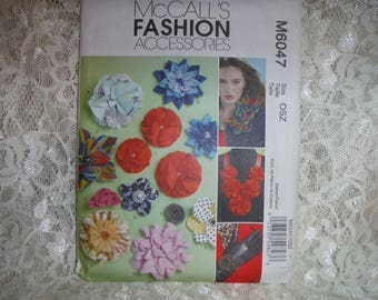 McCall's Fashion Accessories pattern