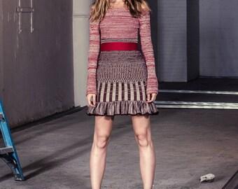 Lucy Ruffle Dress