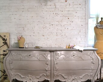 Painted Cottage Chic Shabby French Dresser DR1003