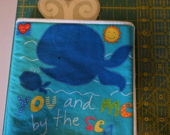 You and Me by the Sea soft fabric book