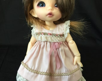Dress and pants for Pukifee/ Lati yellow or similar 16cm doll