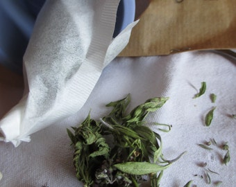 gift Christmas-herbal tea-tea-favors-made hand House box bag kraft