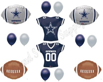 DALLAS COWBOYS Football Party Balloons Decorations Supplies