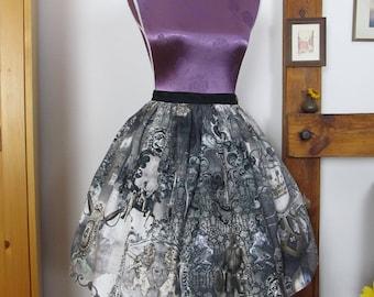 Knight Life Lolita Skirt