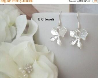 SHOP SALE Orchid Earrings