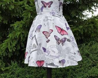 Pin up butterflies dress