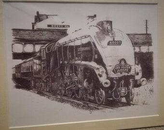 """4468 """"Mallard"""" Steam Locomotive"""
