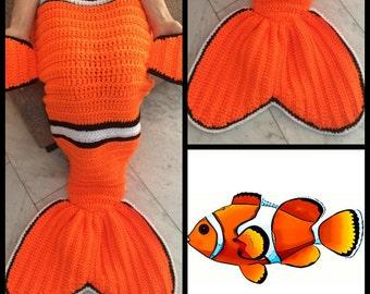 Nemo & Dory Snugglesack (2 patterns)