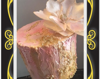 fantasy sugar flower wedding birthday cake  decorating edible art