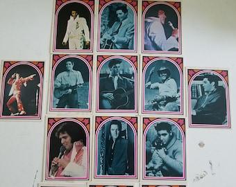 Vintage Elvis Trading Cards