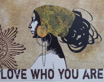 Love Who You are ~ Wall Hanging