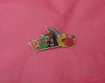 Vintage Angel Peace Pin/Brooch - Sweet
