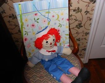 """Raggety Andy 20"""" doll"""