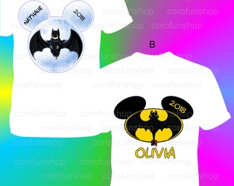 Batman Birthday Shirt / Batman Iron On Transfer / Batman Birthday / Batman Gift / Batman Shirt / Batman Personalized Shirt / Batman