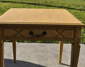 Hand Painted Side/End Table