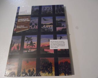 "Anita Goodesign ""Landscape Silhouettes""  CD for machine embroidery"
