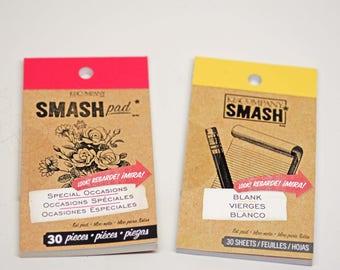DESTASH - SMASH Pad -- Journaling Special Occasions Blank