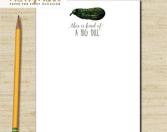 funny note pads wedding gift teachers note pads this is a big dill