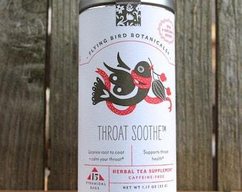 0448 Throat Soothe tea 15bag tin