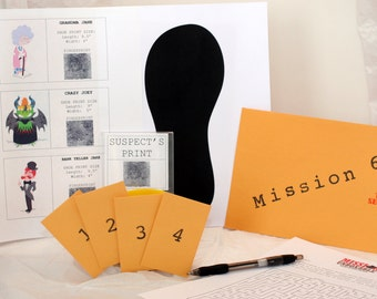 Months 4 thru 12 Top Secret Agent Spy Mission Subscription