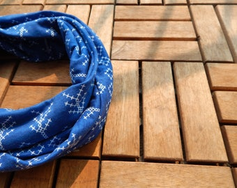 Arrows  Infinity Scarf/Blue Arrows Infinity Scarf
