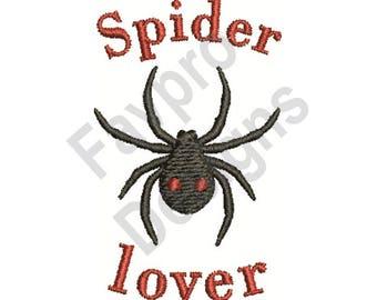 Spider Lover - Machine Embroidery Design