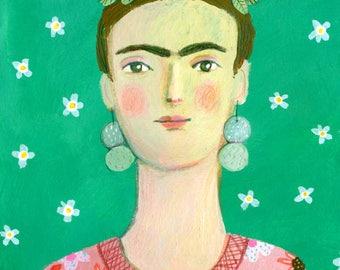 Frida Original Illustration