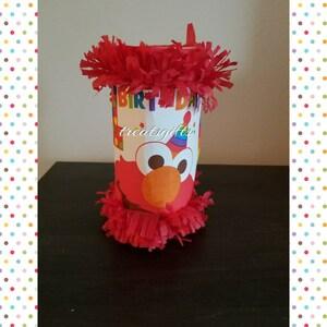 Elmo - Elmo mini pinata - Elmo Birthday - Elmo goodie Bags - Elmo party favors - Elmo party - Sesame street birthday - Sesame street  party