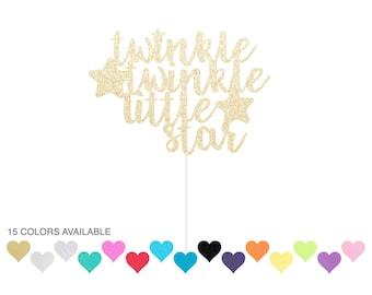 Twinkle Twinkle Little Star Cake Topper - Baby Shower