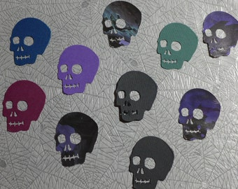 Textured Skull Die Cuts