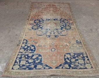 Vintage Oushak  rug      vintage   oushak rug  Turkish vintage rug