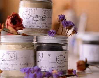 Skincare Gift Set with Body Butter, Detox Clay Mask, and Deodorant Paste