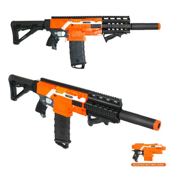 Worker mod f10555 front barrel carrying handle kits for nerf stryfe modify  toy36