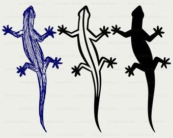 Lizard svg/lizard clipart/lizard svg/lizard silhouette/lizard cricut/lizard cut files/lizard clip art/digital download/designs/svg