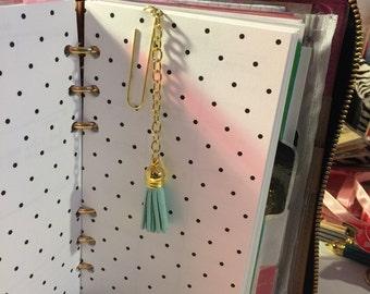 Planner  tassel paper clips