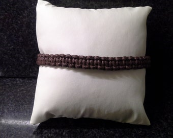 Mens brown, anklet