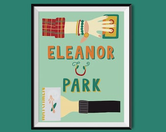 Eleanor and Park by Rainbow Rowell Book Cover Print