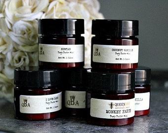 Men's • CHOOSE YOUR SCENT    Luxury Body Butter • Mini Pot