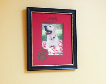 Custom Personalized Pet Photo Frame