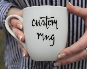 TWO SIDED custom mug, custom coffee mug, mug, coffee mug, unique coffee mugs, unique mug, coffee mugs, cute coffee mug, coffee, coffee mugs
