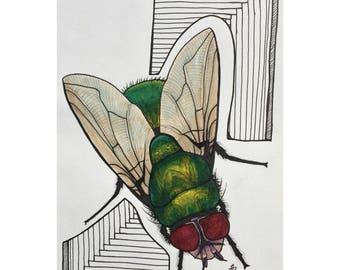 Freaky Fly Print