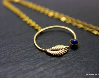 graphic pendant, leaf pendant, gold filled